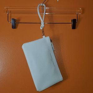 Adrianne Vittadini White Studio Charge Wallet